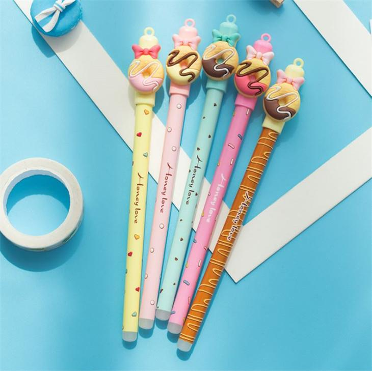 Ribbon Donut Magic Eraseable Gel Ink Pen (Pen Boleh Padam)