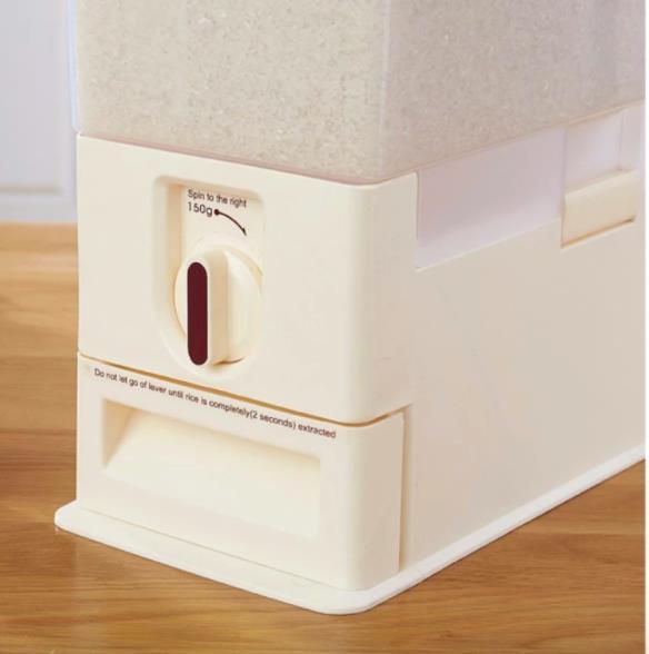 Rice Dispenser 15KG Food Storage Rice Storage Rice Container
