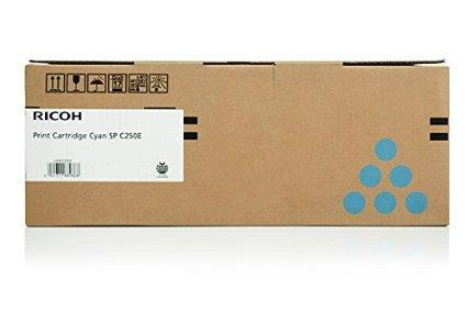 Ricoh Cartridge SPC250S C ( Cyan ) 407548 1.6k (Genuine) SP C250 S