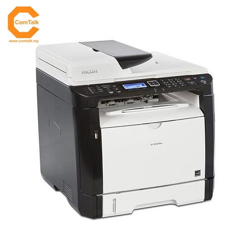 Ricoh SP325SFNW All-In-One Mono Laser Printer