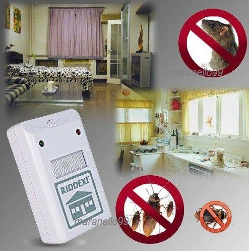 RIDDEX SONIC PEST/MOSQUITO/RODENT REPELLER,Electromagnetic Technology