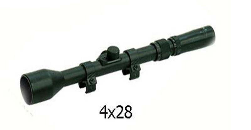RIFLE SCOPE 4X28MM RF 4X28