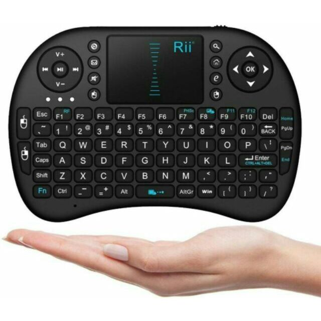 b53cff7ae66 Rii 2.4GHz Keyboard I8 Air Mouse Remote Control Touchpad For PC Android TV  Box. ‹ ›