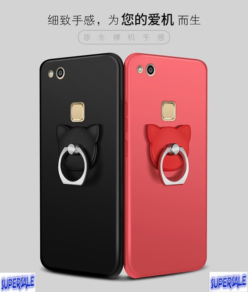 Ring Casing Case Cover for Huawei P10 Lite (aka Nova Youth)