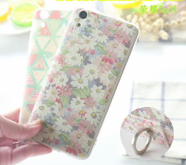 @Ring Huawei Honor 5a 8 v8 Back Case Cover Casing