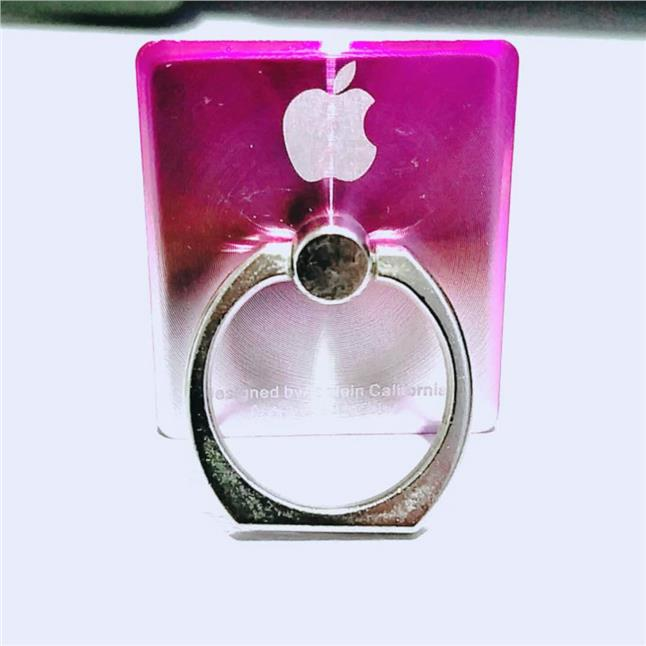 Ring Stand-APPLE (2 Tone pink & silver)