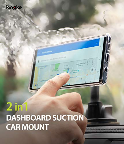 Ringke Dashboard Car Mount Compatible with Smartphone, Tablet, iPad Other Devi