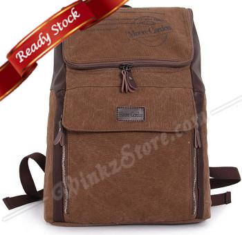 RJ18 Canvas Backpack/ Laptop / Travel Bag