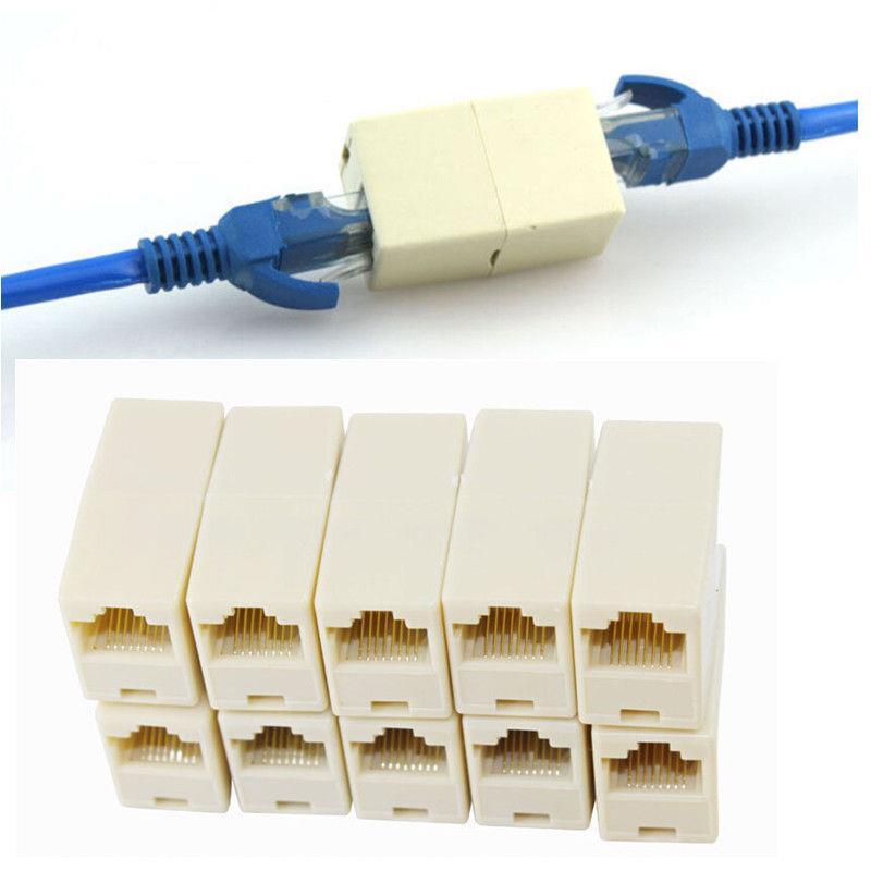 rj45 cat5 coupler plug network lan c (end 7 12 2018 6 15 pm) Audio Adapters Connectors