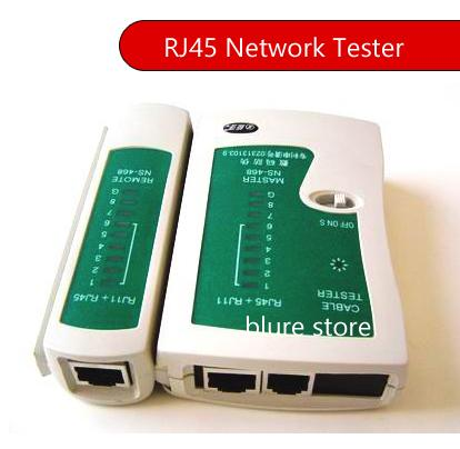 RJ45 RJ11 RJ12 RJ45 CAT5 Network LAN USB Cable Tester