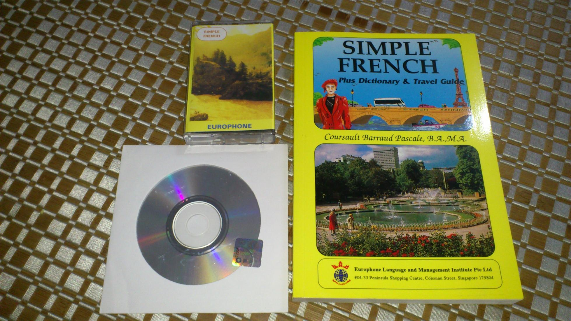 RM10 Book - Simple French, with CD and Cassette