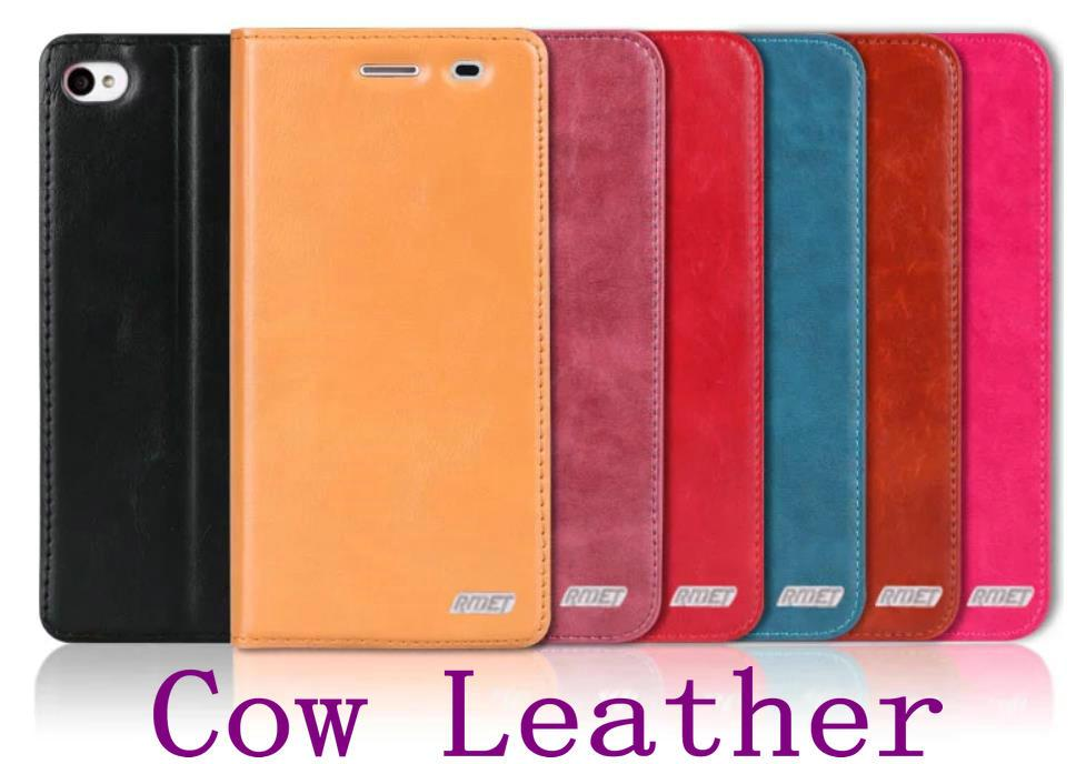 Rmet Cow Leather Lenovo Vibe X2 S90 Flip Case Cover + Free SP