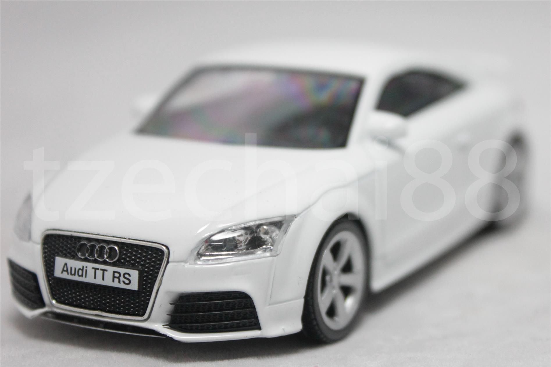 Rmz city diecast 1 43 audi tt coupe car white color collection new toy
