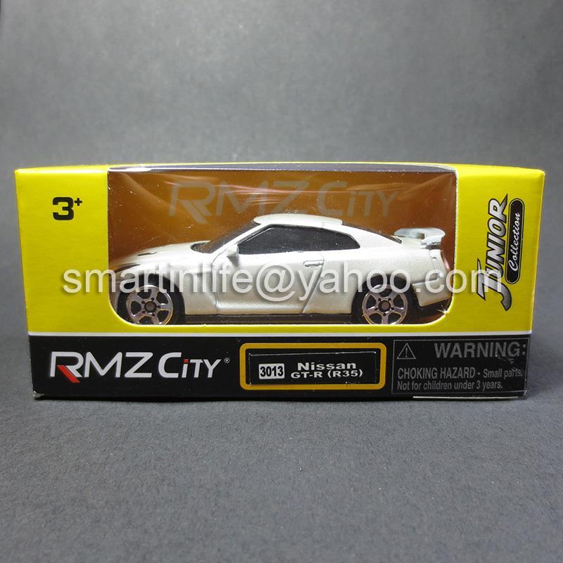 RMZ City DIECAST 1:64 Nissan GT R (R35) (Pearl White