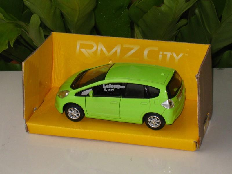 RMZ / DSM 5' Diecast #23 Honda Jazz / Fit 2012 (Apple Green)
