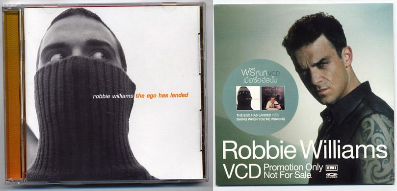 Robbie Williams 'The Ego Has Landed' CD+VCD