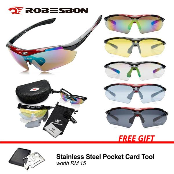 477425cd5a968 Robesbon Polarized Sunglasses with UV400 Protection 5 Color Lenses. ‹ ›