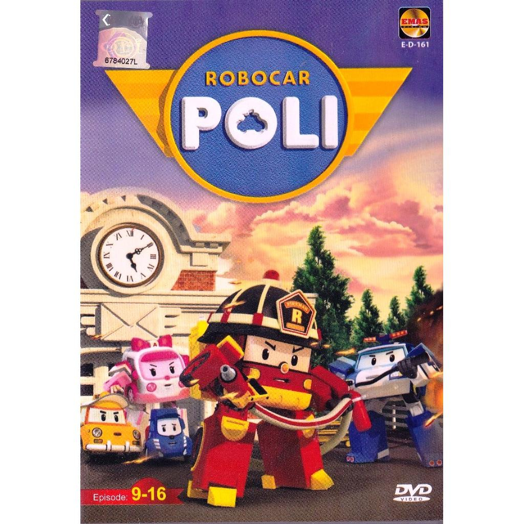 Robocar Poli Ep 9-16 Korean Anime DVD