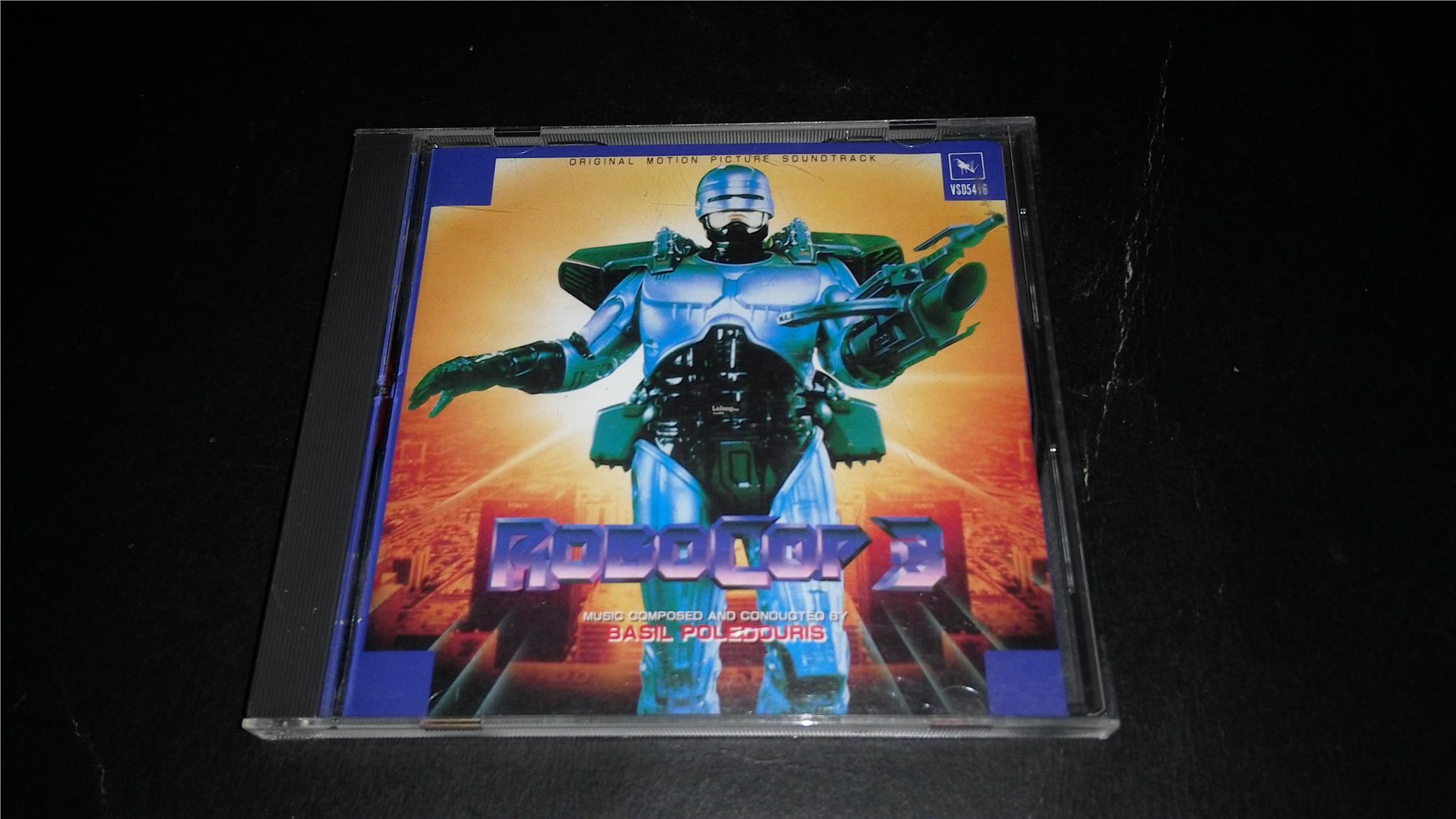 ROBOCOP 3 MOVIE SOUNDTRACK CD