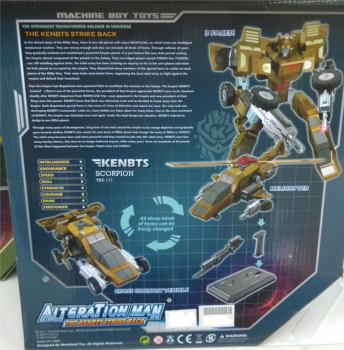 Not Toys For 2018 From Moive : Robot transformers scorpion toys per end pm