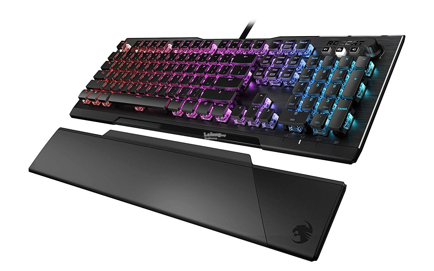 # ROCCAT Vulcan 121 Aimo RGB Mechanical Keyboard # Linear Switch