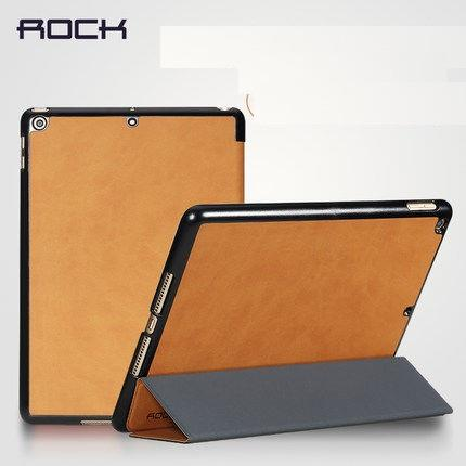Rock 2017 Ipad a1822 Leaher Smart Sleep autowakeup Case Casing Cover