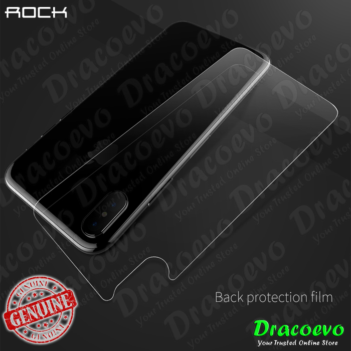 Rock Apple iPhone X Protection Film Set 3 in 1 Back Front Camera