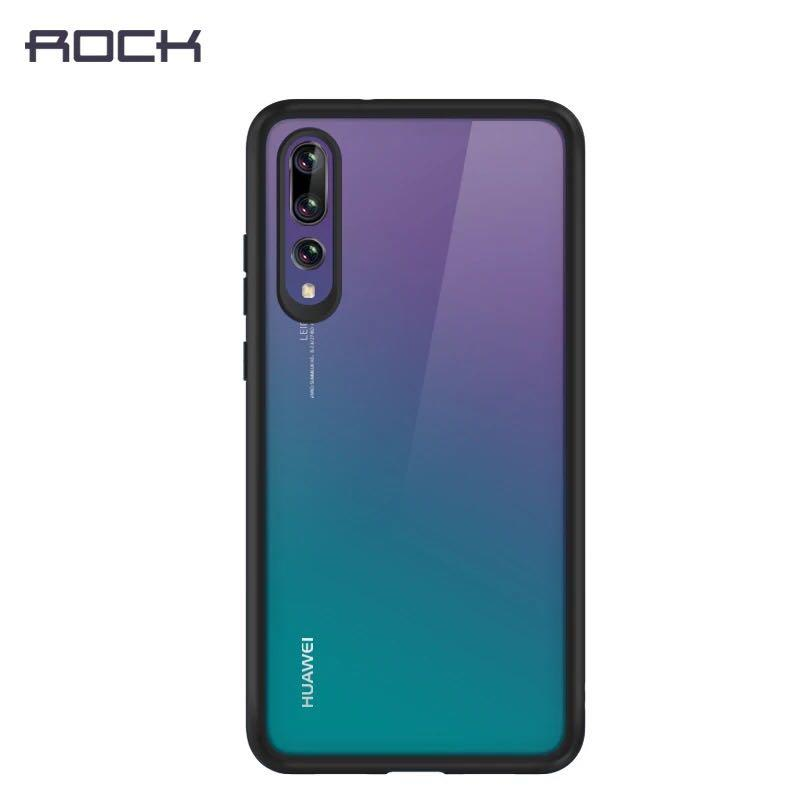 on sale 792a8 1eab9 ROCK Clarity Huawei P20 / P20 Pro Armor Anti Shock Proof Case Cover