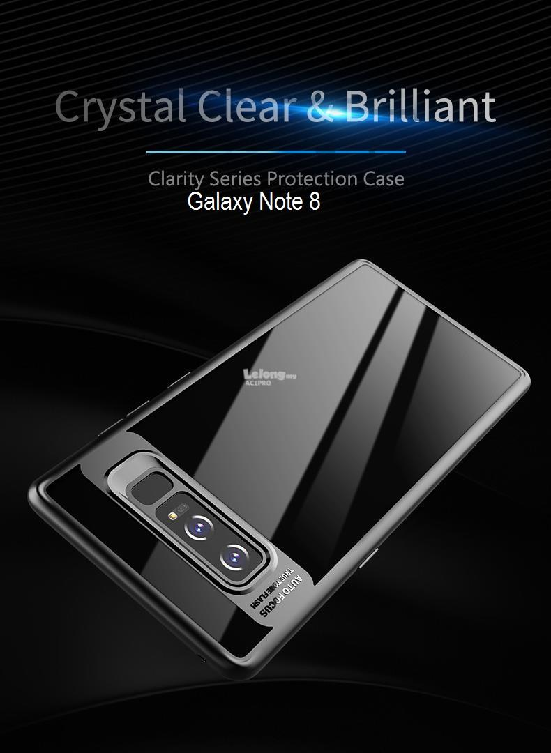wholesale dealer 3b03b e7bd0 Rock Clarity Series Protection Back Case Cover Galaxy S9 PLUS NOTE 8