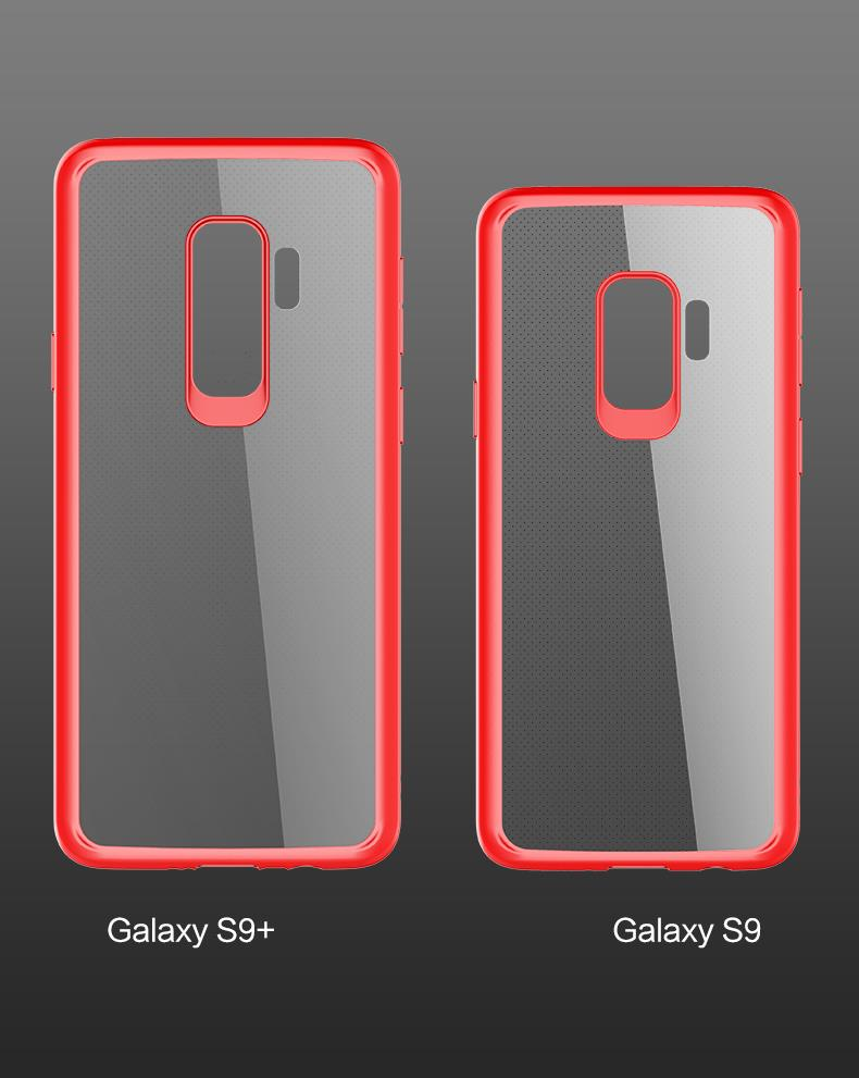 ROCK Clarity Series Samsung Galaxy S9 S9+ Plus Protection Case Cover