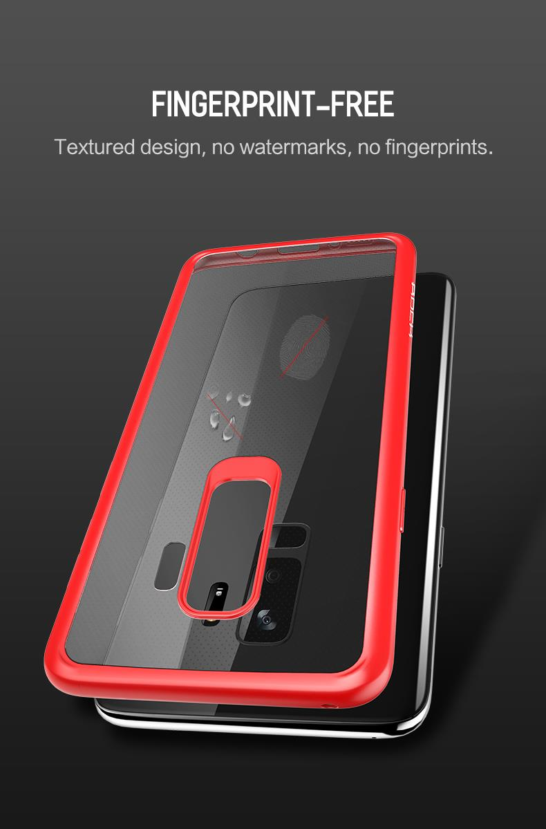 Rock Clarity Series Samsung Galaxy S9 Protection Case Cover Goospery New Bumper X Black Plus