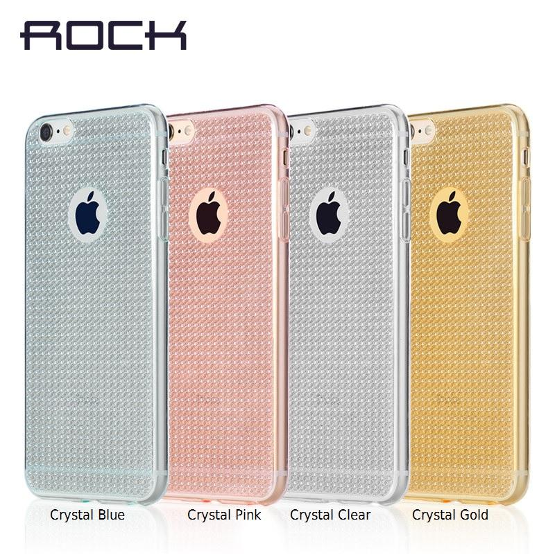 online retailer 79f2b b9e05 ROCK Fla iPhone 5S 5 SE 6 6S Plus Glitter Bling Shining Cover Case