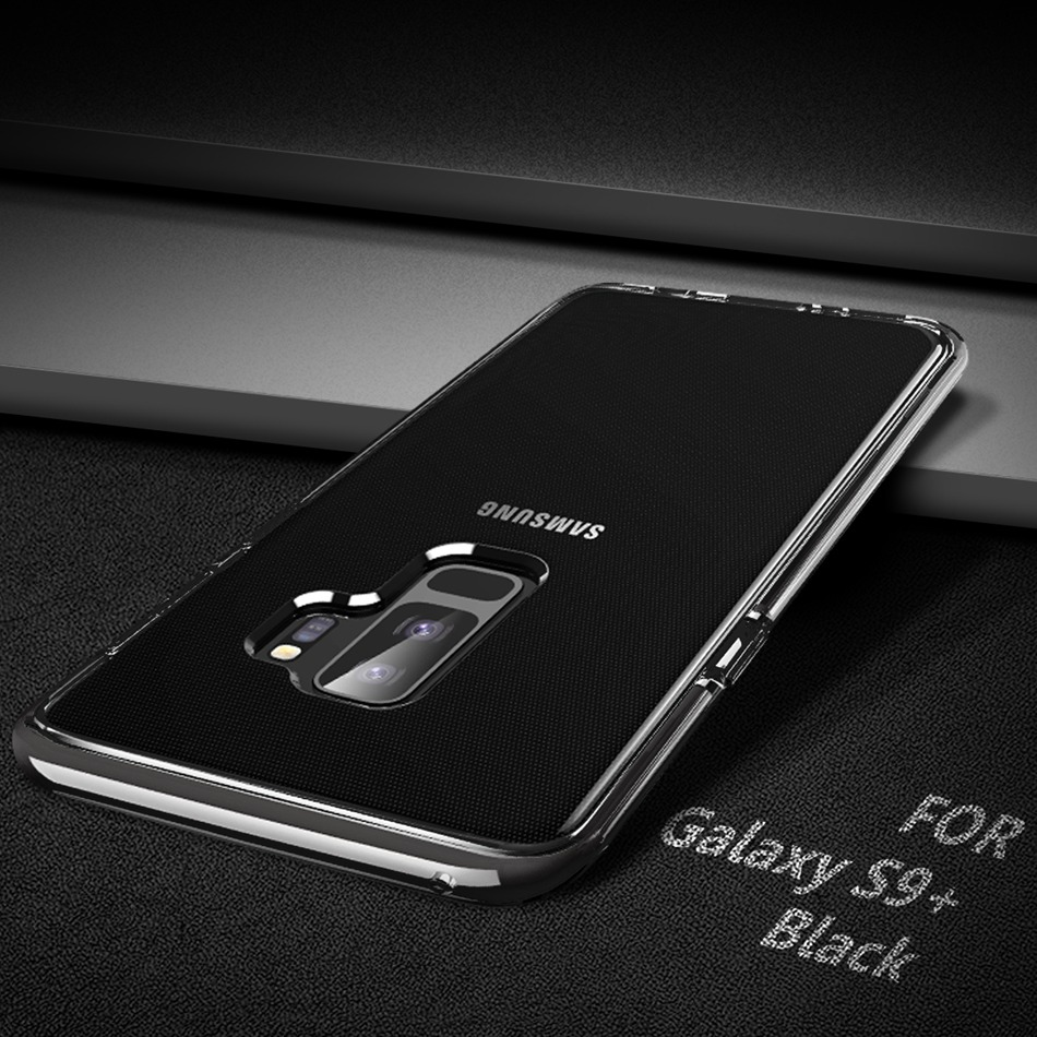 ROCK GUARD SERIES CASE FOR SAMSUNG S9 PLUS - BLACK