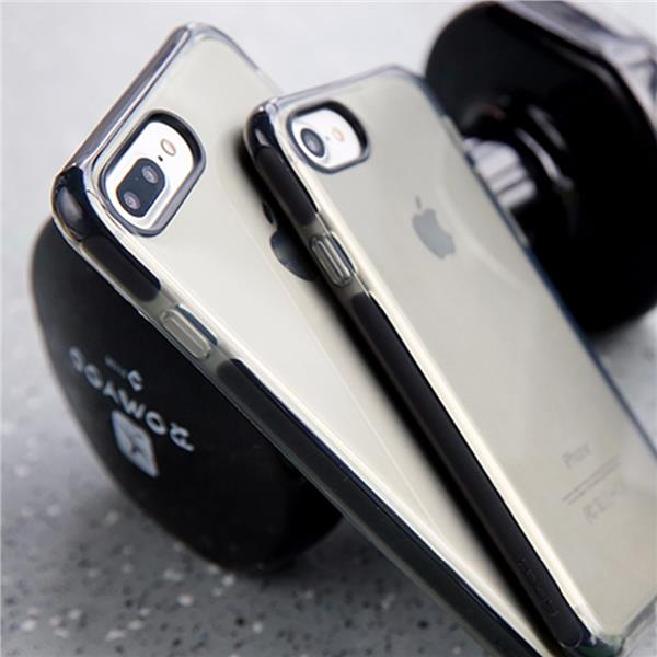 Rock Guard Series iPhone 7 8 7+ 8+ Plus Frosted Protection Case Cover