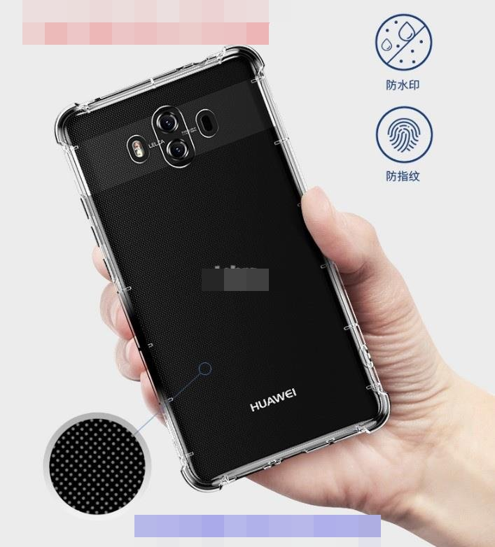 Rock Huawei Mate 10 Soft ShockProof Clear TPU Back Case Cover Casing