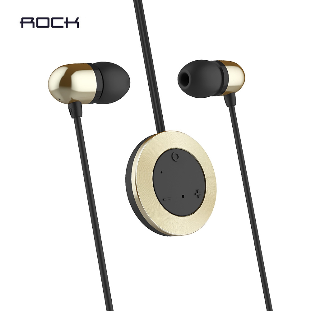 ROCK MUO WIRELESS BLUETOOTH HIFI MUSIC IN-EAR SPORT EARBUDS SUPER BASS..