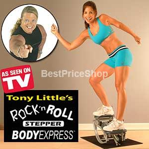 Rock 'n Roll Stepper - Fast Slim Total Body Fat Burning
