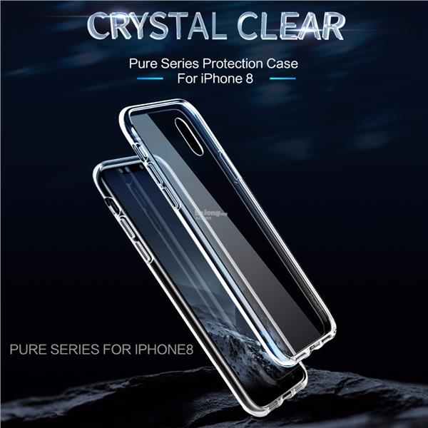 Rock Pure Series Protection Back Case Cover Apple iPhone X