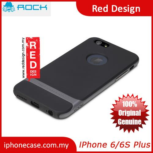 Rock Royce Series Double Layer Cover Case for iPhone 6 Plus 5.5 - Grey