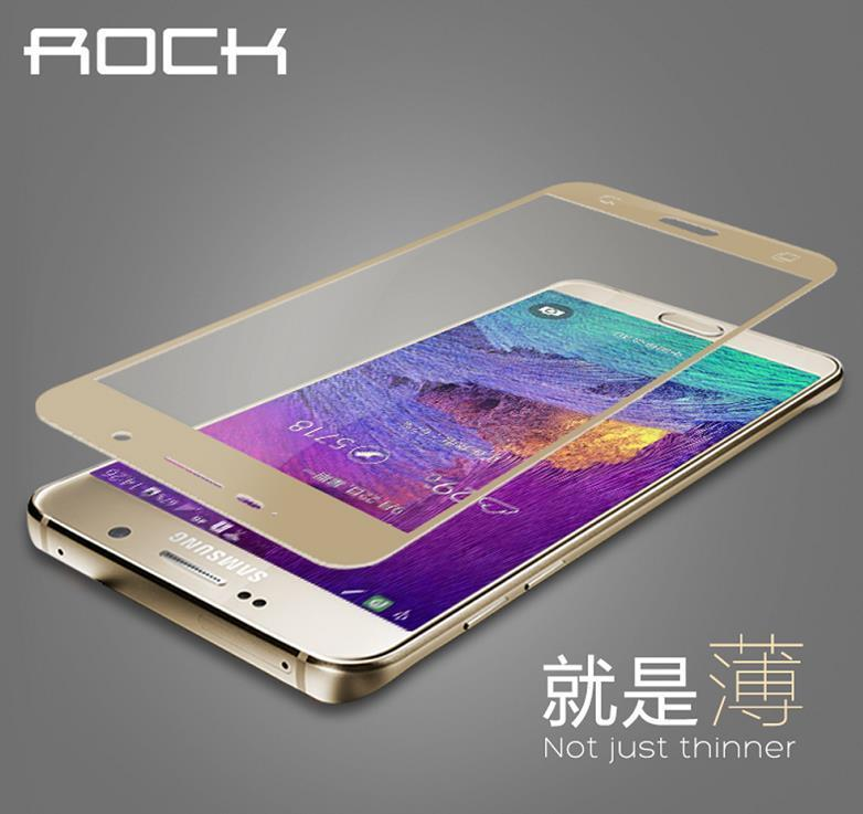 Rock Samsung Galaxy Note 5 Full Cover Tempered Glass Screen Protector