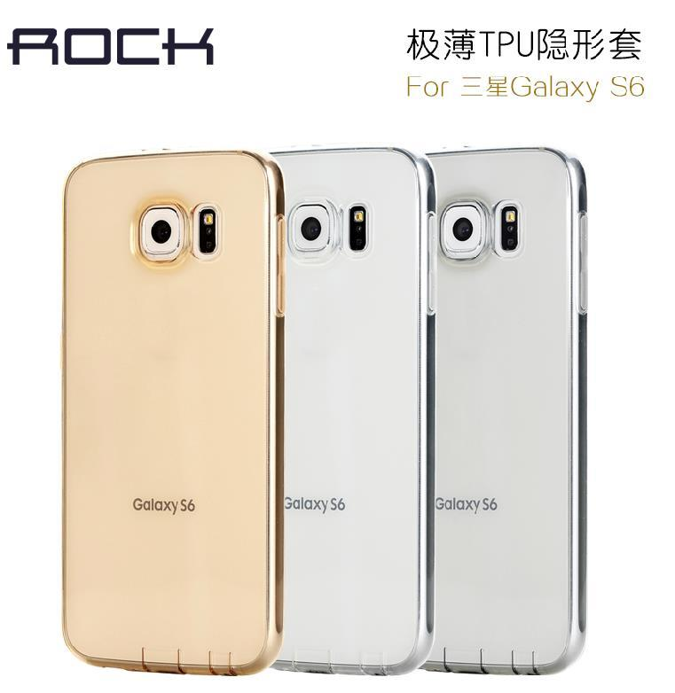Rock Samsung Galaxy S6 Ultra Thin TPU Silicone Case Cover