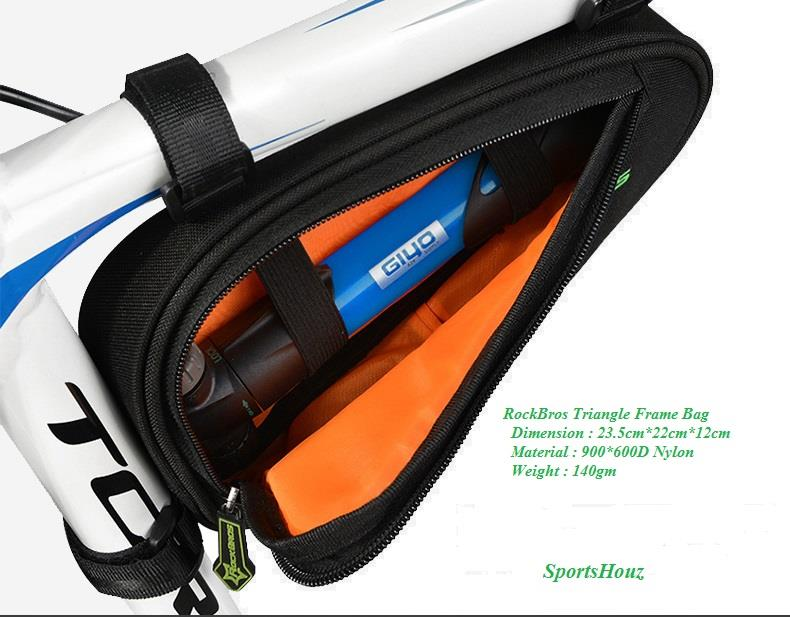 RockBros Triangle Frame Bag Cycling