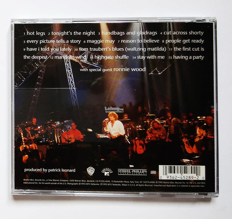 Rod Stewart [Unplugged... and seated] 1993 CD