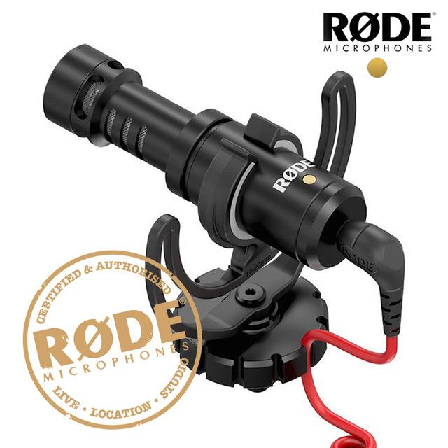 RODE VIDEOMICRO COMPACT ON-CAMERA RECORDING MICROPHONE -rdy stk