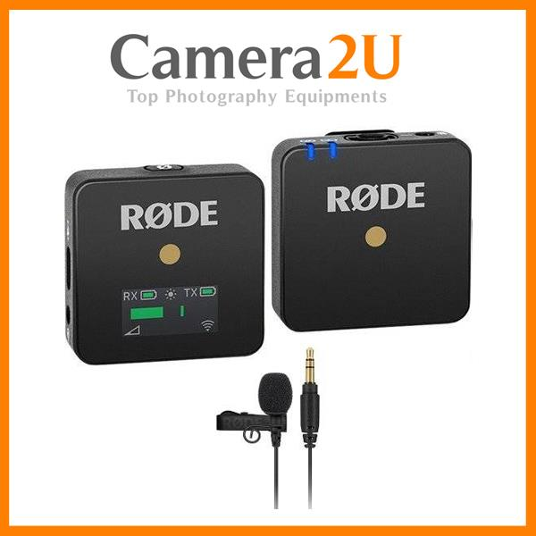 Rode Wireless GO Wireless Microphone + Rode Lavalier Go Kit