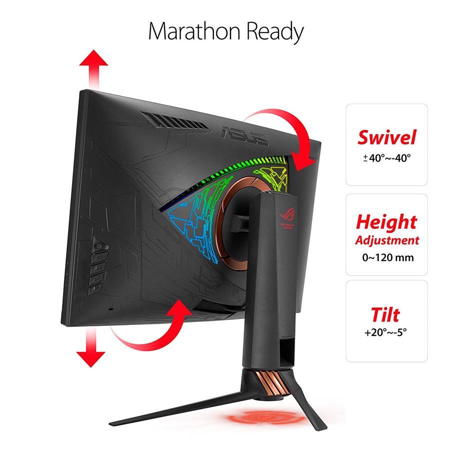 ROG SWIFT PG27VQ 27' WQHD 2K Aura Sync G-Sync Curved Monitor