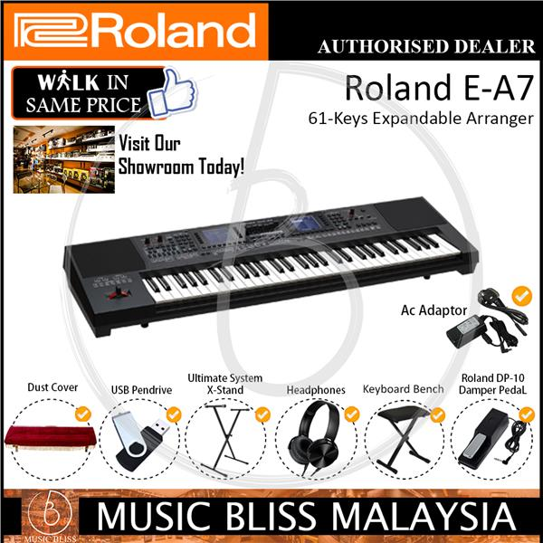 Roland E-A7 61-Keys Expandable Arranger (EA7) *Christmas Promotion*