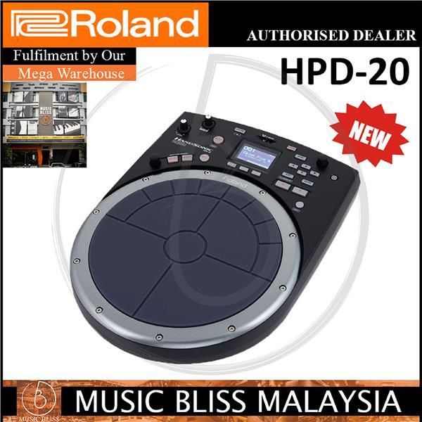 67651e34d7fb Roland HandSonic HPD-20 Digital Percussion Controller (HPD20)