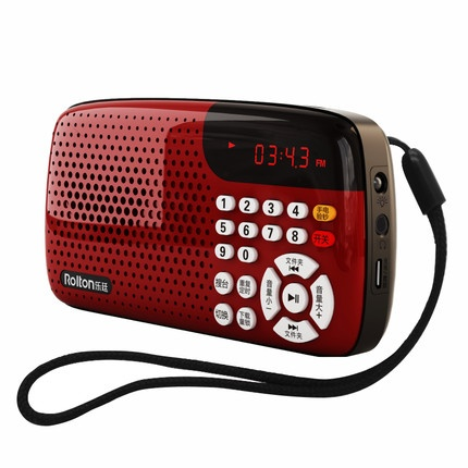 Rolton branded 18-20hrs Mini Radio /MP3 player/ FM Radio