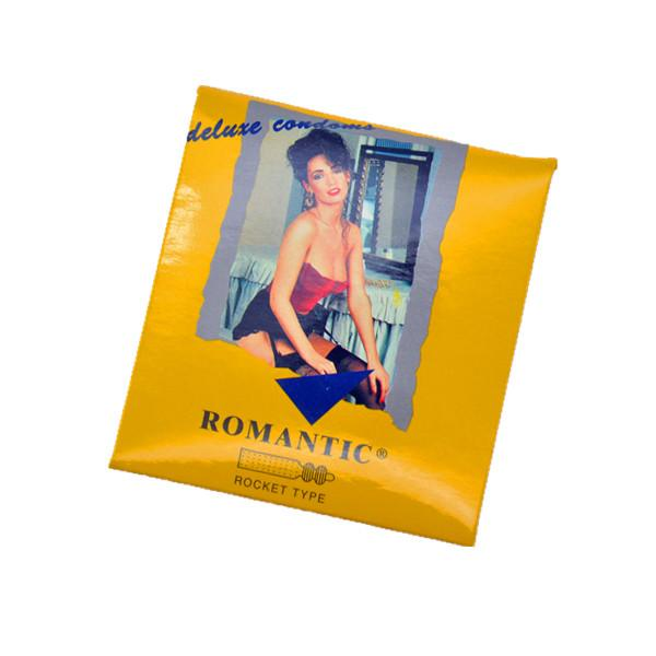 Romantic Deluxe Rocket Type Condom (Kondom) - 3's